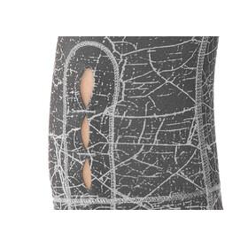 The North Face W's Motivation Printed Crop Legging TNF Black Crackalackin Print